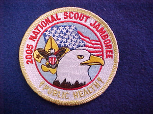 2005 NJ patch, public health staff