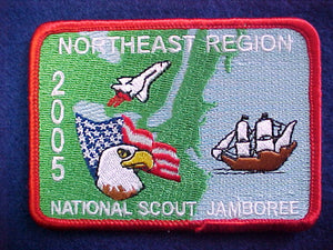 2005 NJ pocket patch, northeast region