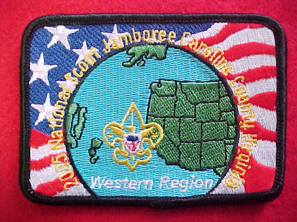 2005 NJ pocket patch, western region, 2.675x3.675