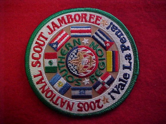 2005 NJ patch, southern region, !vale la pena!
