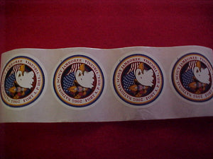 2005 NJ stickers, set of 4
