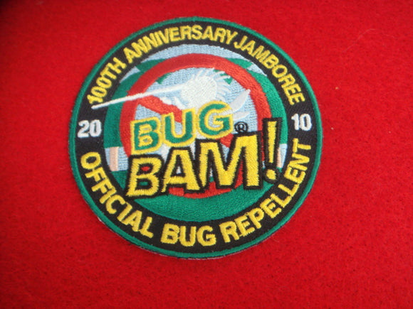 2010 NJ Bug Bam Official Repellent Patch