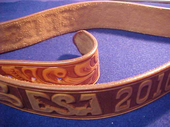 2010 NJ BELT, LEATHER, SIZE 30