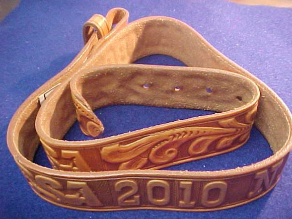 2010 NJ BELT, LEATHER, SIZE 32