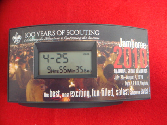 2010 NJ Countdown Clock