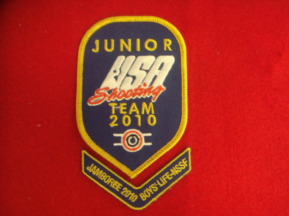 2010 NJ Boys' Life NSSF Shooting Team Patches