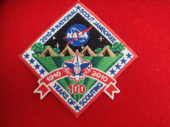 2010 NJ NASA Patch