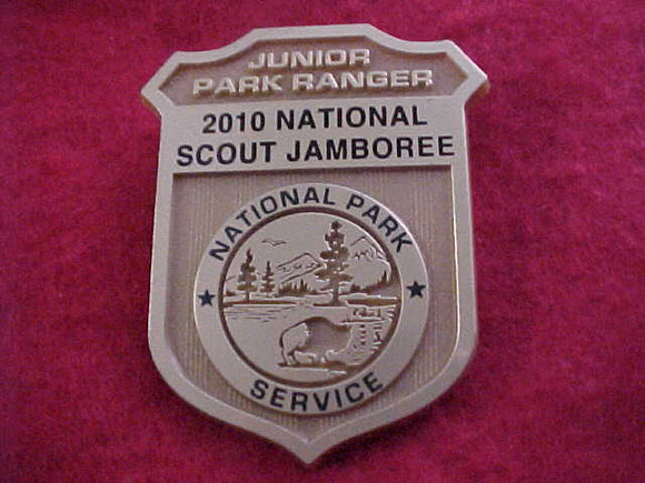 2010 NJ BADGE/PIN, NATIONAL PARK SERVICE, JUNIOR PARK RANGER
