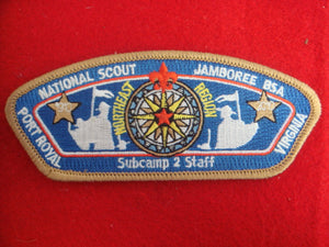 Ne Region Subcamp 2 Staff