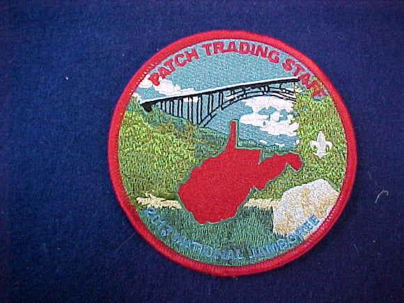 2013 National Jamboree Patch Trading Staff 4 round