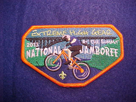 2013 NJ PATCH, EXTREME HIGH GEAR AT THE SUMMIT