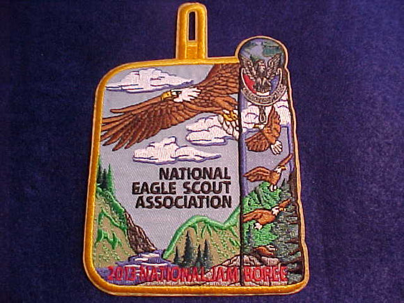 2013 NJ POCKET PATCH, NATIONAL EAGLE SCOUT ASSOCIATION (NESA)