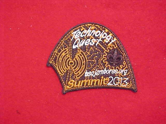 2013 NJ PATCH, TECHNOLOGY QUEST
