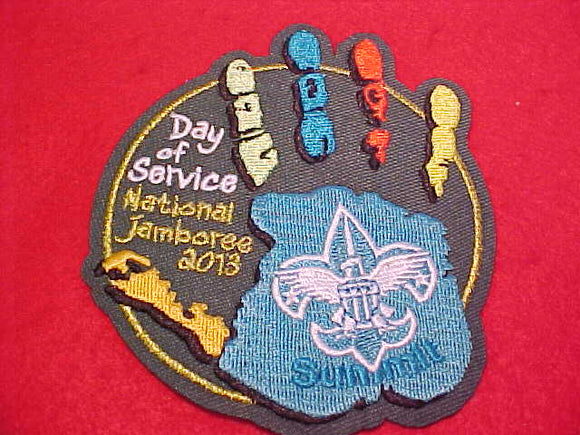 2013 NJ PATCH, DAY OF SERVICE, SUMMIT