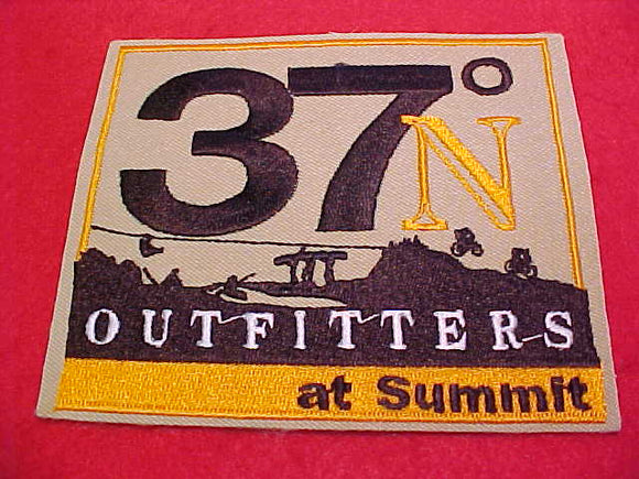 2013 NJ PATCH, 37° N OUTFITTERS AT SUMMIT