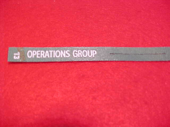 2013 NJ PATCH RIBBON,SUMMIT CHALLENGE, OPERATIONS GROUP