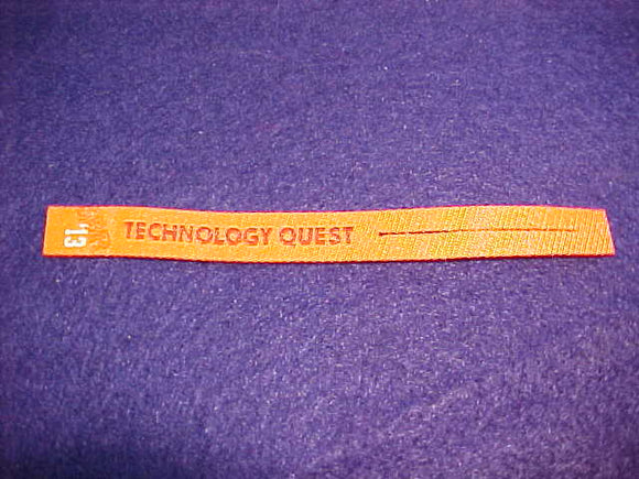 2013 NJ PATCH RIBBON,SUMMIT CHALLENGE, TECHNOLOGY QUEST
