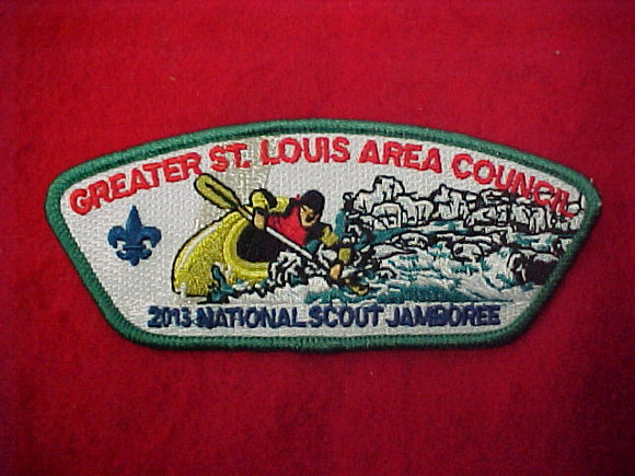 Greater St. Louis Area Council, kayaking scout, 2013 nj