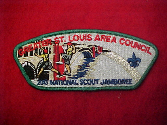 Greater St. Louis Area Council, climbing scouts, 2013 nj