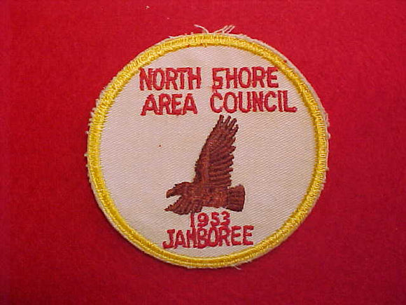 1953 NJ PATCH, NORTH SHORE AREA COUNCIL CONTINGENT