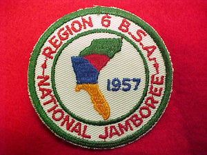 57 NJ pocket patch, region 6