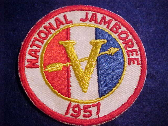 1957 NJ PATCH, REGION 5