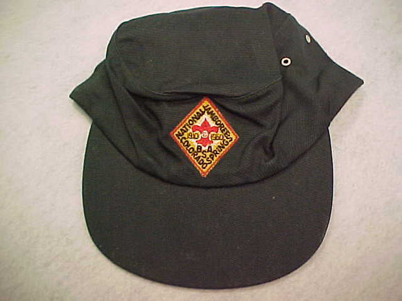 1960 NJ HAT, OFFICIAL WITH DIAMOND SHAPED HAT PATCH, SIZE 7.25, NEVER WORN