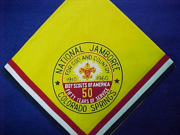 60 NJ neckerchief, official, mint cond.