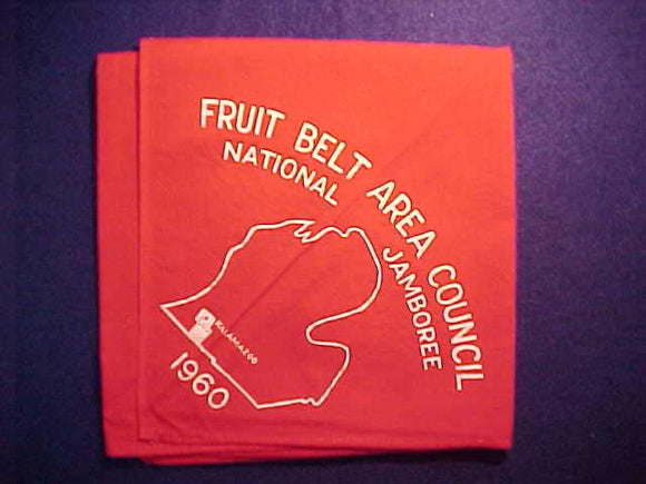 1960 NJ N/C, FRUIT BELT AREA COUNCIL CONTIGENT, KALAMAZOO, MICHIGAN