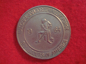 64 NJ token, pewter color, reproduction made by the BSA in the 1980's