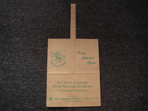 64 NJ litter bag, printed by Boise Cascade Corp., St. Helens Division