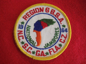 64 NJ region 6 pocket patch
