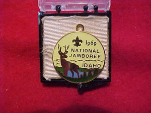 1969 NJ CHARM, GOLD FILLED, MINT IN ORIGINAL BOX