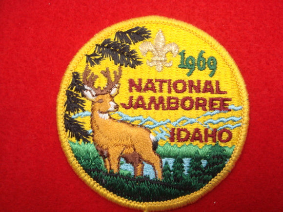 69 NJ pocket patch reproduction made by BSA in 1973, plastic back
