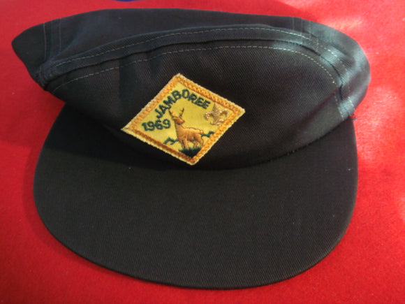 69 NJ hat, official, with diamond shape patch, size 6 7/8-7 medium, mint