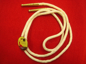 69 NJ bolo, cloissonne with white string