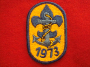 73 NJ Navy patch given out at their NJ booth