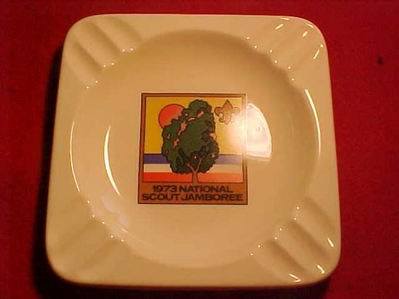 1973 NJ ASHTRAY, 5 3/8