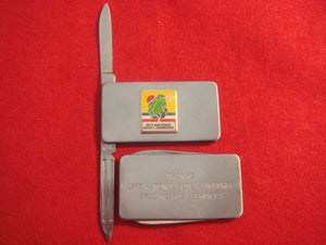 "73 NJ knife, trading post services ""thanks"" knife for staff, Imperial Company"
