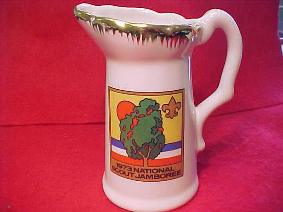 1973 NJ CERAMIC CREAMER/PITCHER, 5