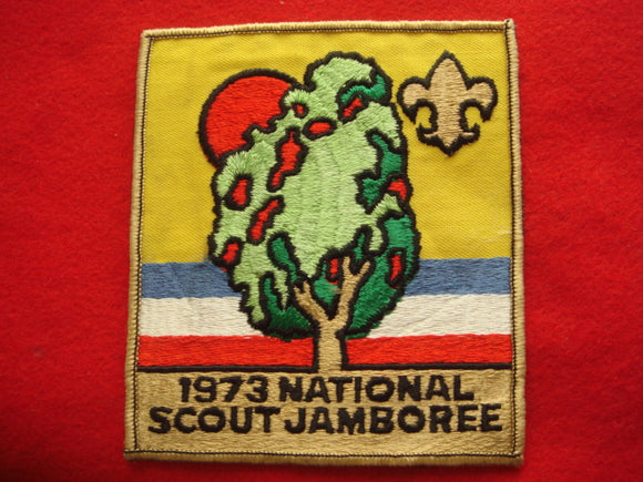 73 NJ jacket patch, official, cloth back