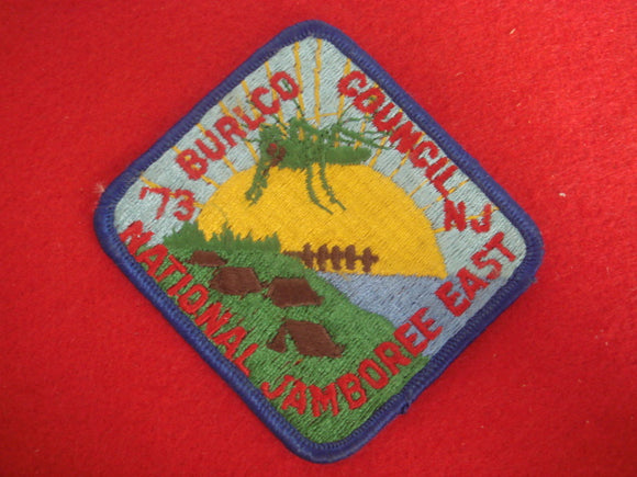 73 NJ Burlco Council contingent patch, Burlington County Council