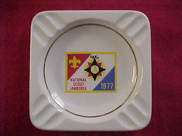 1977 NJ ASHTRAY, CERAMIC