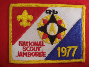 77 NJ pocket patch, official issue