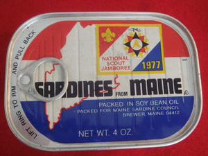 77 NJ sardines tin, Sardines from Maine, mint condition