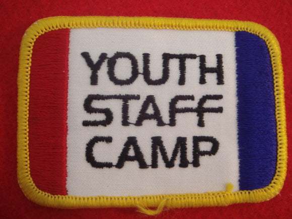 77 NJ youth staff camp patch