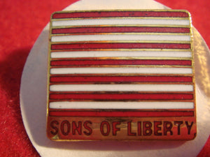 81 NJ subcamp pin, Sons of Liberty