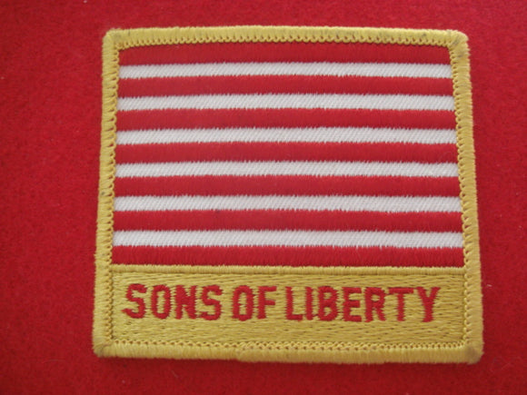 81 NJ subcamp patch, sons of liberty