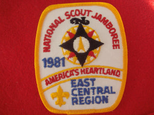 81 NJ East Central region patch