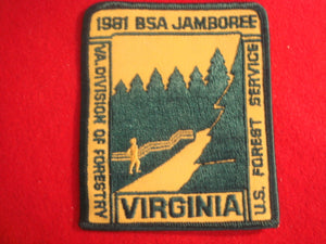81 NJ U.S. Forest Service/Virginia Division of Forestry patch